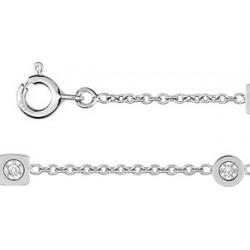Bracelet diamants 0,42ct  or 750/000